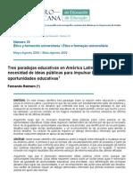 Tres paradojas educativas Federico Reimers.pdf