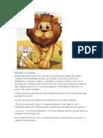 Fabula - El león y el ratón.docx