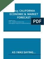 2015 California Economic & Market Forecast