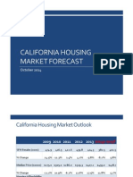 California Housing Market Forecast, October 2014