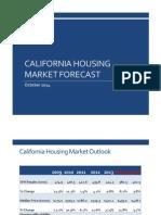 California Housing Market Forecast, October 2014