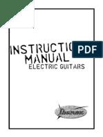 Ibanez Edge III Manual