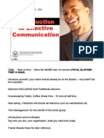Effective Communication Presentation Notes
