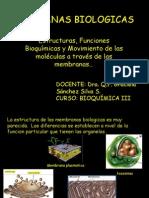 MEMBRANAS BIOLOGICAS - BIOQUIMICA III - CLASE (2).ppt