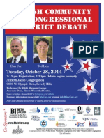 Beth Jacob Debate Flyer