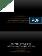 GRUPO DE DIVULGACIÓN ASTRONÓMICA.pptx