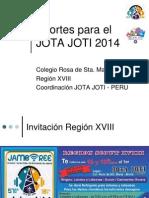 Aportes JOTA JOTI 2014.ppt