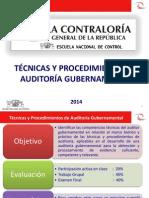 PPT  Técnicas y Procedimientos de Auditoría.pptx