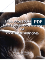 Basic procedures for a small scale production of mushrooms.pdf
