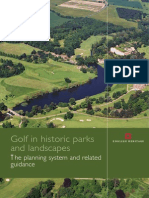 Golf the Planning System and Related Guidance