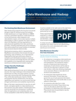 Zettaset Secure Data Warehouse and Hadoop