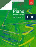 ABRSM - Selected Piano Exam Pieces 2011-2012 - Grade 1.pdf