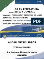 pedagogaydidacticadelaliteraturainfantilyjuvenil-111218111755-phpapp02.ppt