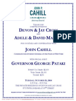 Cocktails & Conversation  for John Cahill
