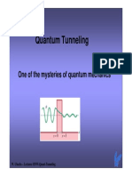 MNW Lect Quant Tunneling