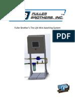 Fuller Brothers User Manual