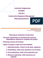 5 - Planning Earthwork