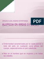 ALOPECIA EN ÁREAS O PELADA Y TRICOTILOMANÍA.ppt