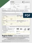 Part Time Course Registration Form