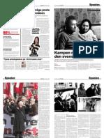 Kampen mot Francodiktaren och den svenska sovsäcken