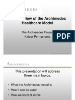 Archimedes Model Introduction