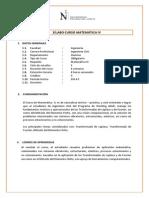 SÃ-labo - Matemática IV.docx