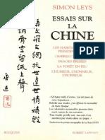 Essais Sur La Chine - Simon Leys