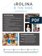 Carolina For the Kids October Newsletter