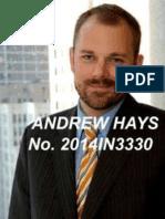 Motion to Disqualify Andrew T. Hays, Sarah E. Buck, Antonio Hays