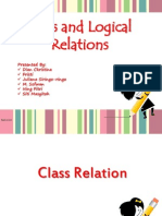 Class and Logical relation
