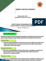 Manajemen Tanggap Darurat di Indonesia.ppt