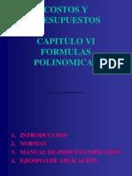 costos y presupuestos - capitulo vi - formulas polinomicas (r1).ppt