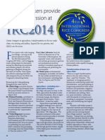 Rice Today Vol. 13, No. 4 Plenary speakers provide grist for discussion at IRC 2014