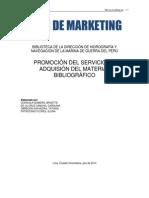 Plan de Marketing Biblioteca Dhn Final