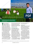 Rice Today Vol. 13, No. 4 IRRI's new breeding factory
