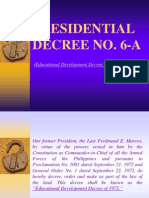 PRESIDENTIAL DECREE No. 6-A-102014.ppt