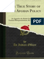 The True Story of Our Afghan Policy (1880)