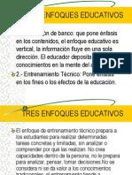 2 TRES ENFOQUES EDUCATIVOS.ppt
