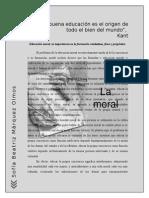 Ensayo sobre Educación Moral. Sofia Marquez.doc