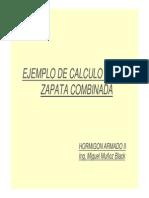 EJEMPLO DE CALCULO DE UNA ZAPATA COMBINADA [Modo de compatibilidad].pdf