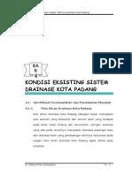 Kondisi Eksisting Sistem Drainase Kota Padang