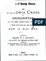 The Victoria Cross in Afghanistan and on the frontiers of India (1882) by  MAJOR W J. ELLIOTT