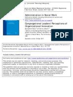 (2011)_Kang Et Al_Leaderperception of Org Innovation