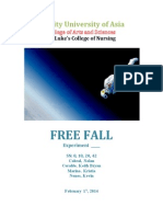 Free Fall Experiment (1)
