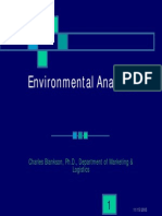 Environmental Analysis (Micro and Macro)