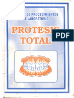 Manual de procedimientos de laboratorio - Prótesis total.pdf