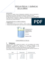 CARACTERÍSTICAS FÍSICAS  Y QUÍMICAS DE LA ORINA.docx