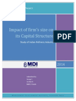 Impact of Size on Capital Structure