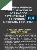 consolidación de los rasgos estructurales de la economía mexicana 1935-1960