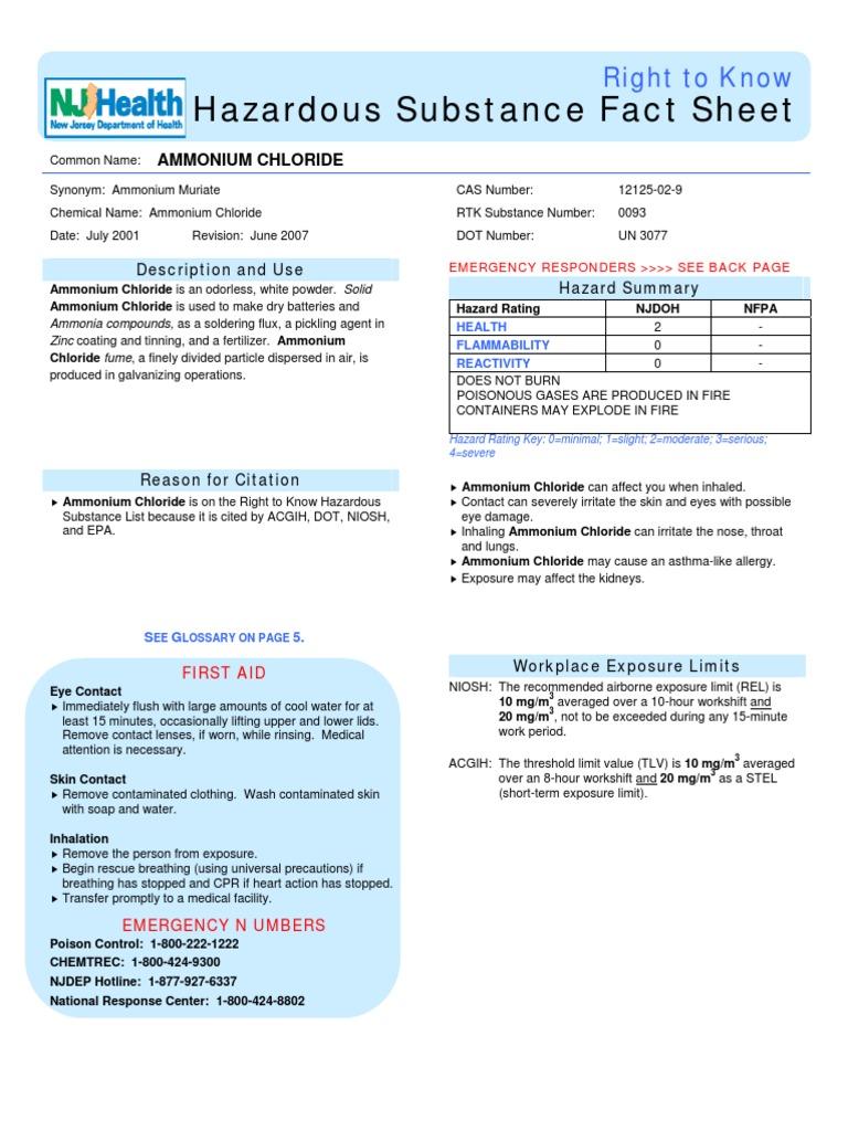0093 - Personal Protective Equipment - Chlorine - 웹